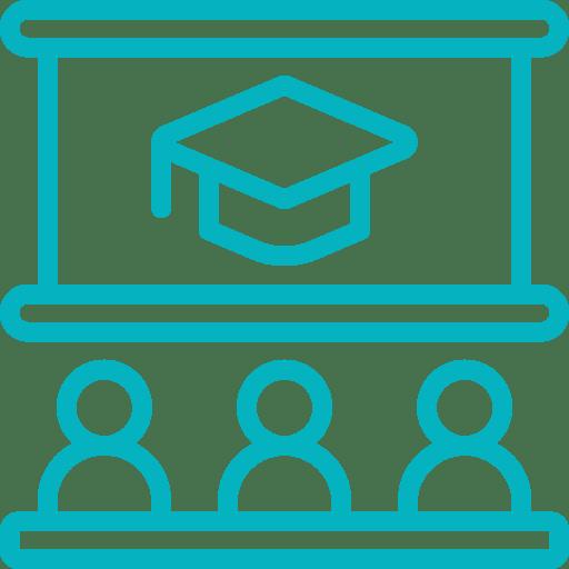 pictogramme formation à l'utilisationdu logiciel de gestion d'affaires Gestactiv