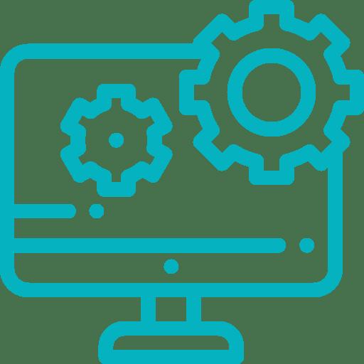 pictogramme installation du logiciel de gestion d'affaires Gestactiv