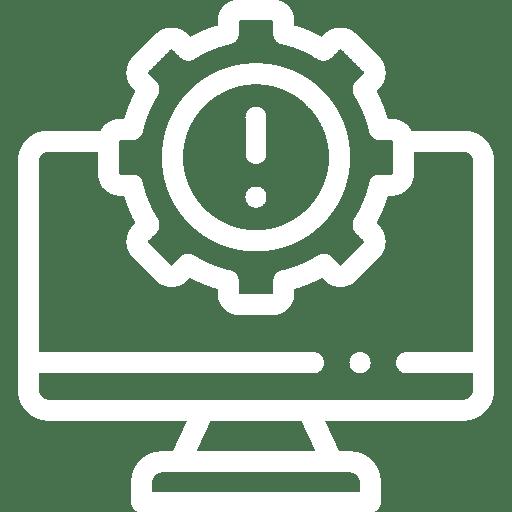 pictogramme gestion de parc informatique infogérance et maintenance