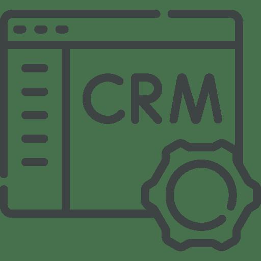 pictogramme CRM fonctionnalité du logiciel Axilta dédié à la gestion d'affaires des professionnels du Bâtiment