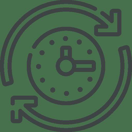 pictogramme historique demande fonctionnalité du logiciel pour la qualité Plan'Actions