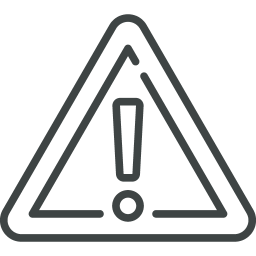 pictogramme illustration risques pour établir PRA/PCA informatique