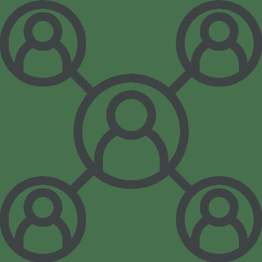 pictogramme illustration rôles pour établir PRA/PCA informatique