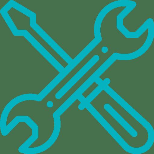 pictogramme support et maintenance étape 6 processus de création de site internet applications mobile logiciels