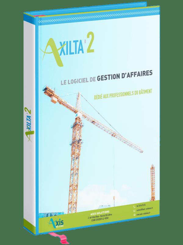 illustration documentation technique Axilta'2 logiciel ERP de gestion d'affaires dédié aux professionnels du Bâtiment