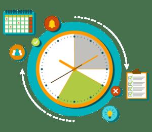 illustration fonctionnalité faisabilité horaire logiciel Logis'Team