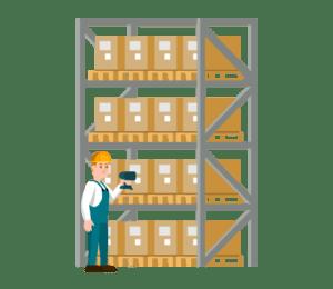 illustration fonctionnalité préparation et magasinage logiciel Logis'Team