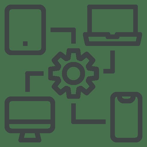 pictogramme postes de travail installation de matériel informatique